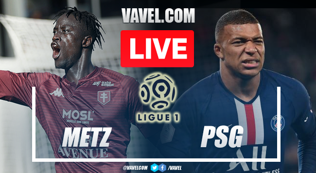 Goals and Highlights: Metz 1-2 PSG in Ligue 1