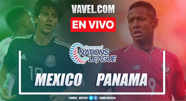 México vs Panamá en vivo cómo ver transmisión TV online enLiga de Naciones de CONCACAF 2019 (0-0)