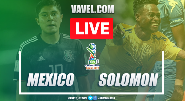 Goals and Highlights: Mexico 8-0 Solomon Islands, U-17 World Cup