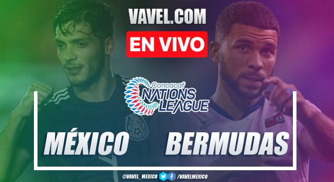 Goles y Resumen: México 2-1 Bermudas en Nations League 2019