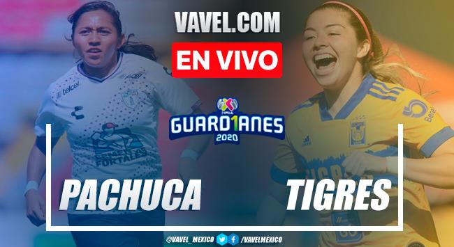 Gol y resumen: Pachuca Femenil 1-2 Tigres Femenil en Liguilla Guard1anes 2020