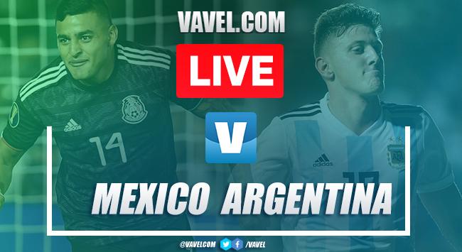 Goals and Highlights: México 2-2 Argentina, U-22 Friendly Match