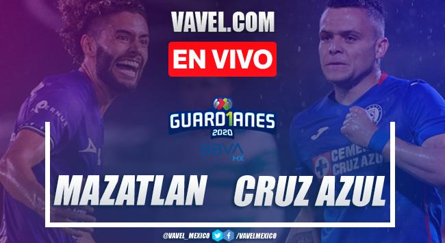 Goles y resumen del Mazatlán 2-3 Cruz Azul en Liga MX 2020