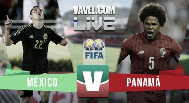 Resultado México - Panamá en amistoso FIFA 2015 (1-0)