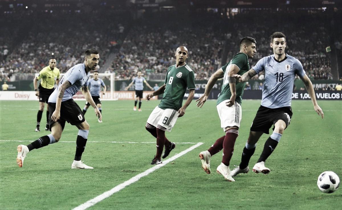 Bajo el comando de Suárez, la garra charrúa golea a México