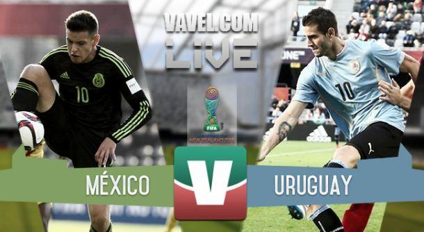 Resultado México - Uruguay en Mundial Sub-20 2015 (2-1)