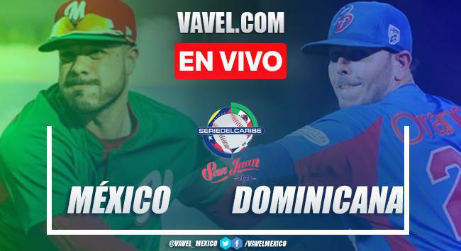 Resumen y carreras: México (1-2) República Dominicana, Serie del Caribe 2020
