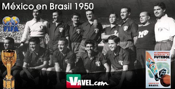 Serial, México en Mundiales: Brasil 1950: el anhelado regreso