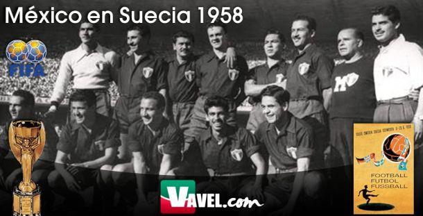 Serial, México en Mundiales. Suecia 1958: un empate con sabor a oro
