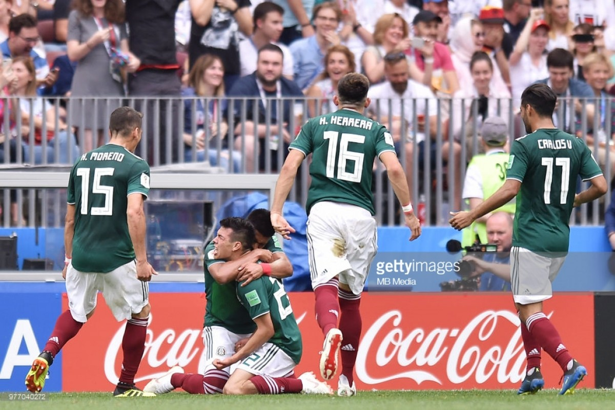 Germany 0-1 Mexico: Lozano breaks German hearts in opening game of Group F