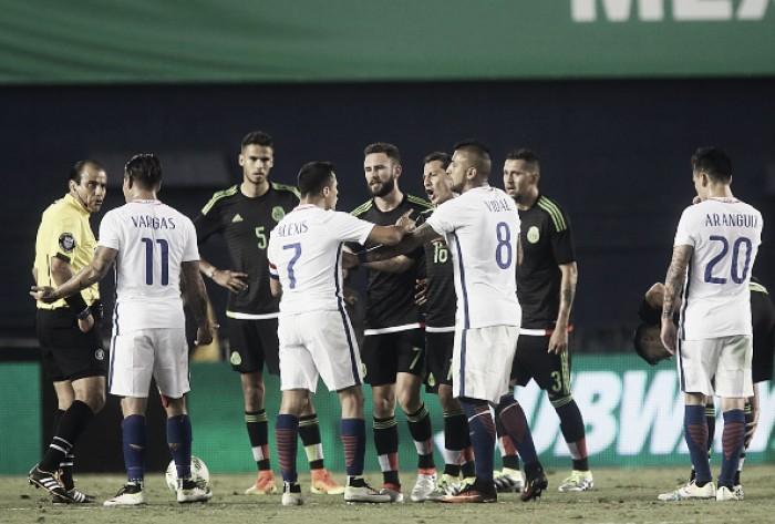 Invicto sob comando de Osório, México busca classificação diante do atual campeão Chile