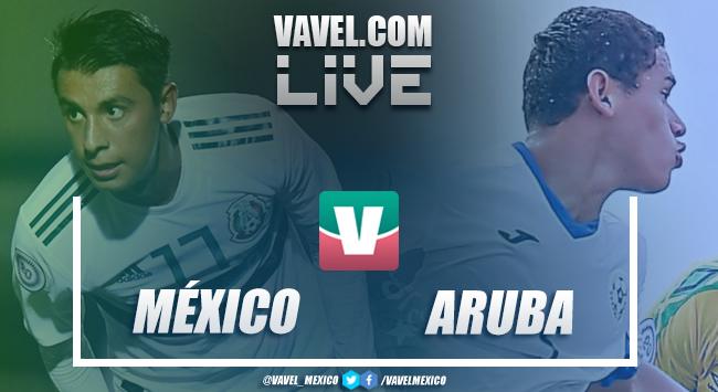 Resultado y goles del México 10-0 Aruba en Premundial Sub-20