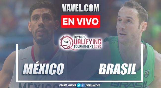 Resumen del Brasil 102-74 México en Semifinal del Preolímpico FIBA 2021