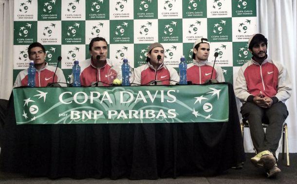 Copa Davis: Lucas Gómez inaugura las hostilidades ante Chile