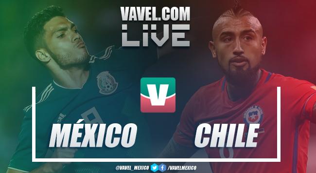 Resultado y goles del México 0-1 Chile en amistoso 2018
