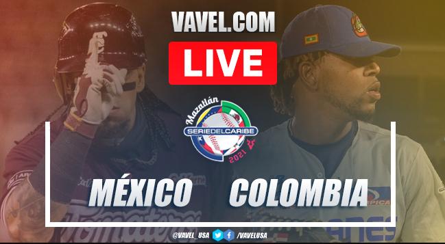 Resumen y carreras: México 10 - 2 Colombia en Serie del Caribe 2021