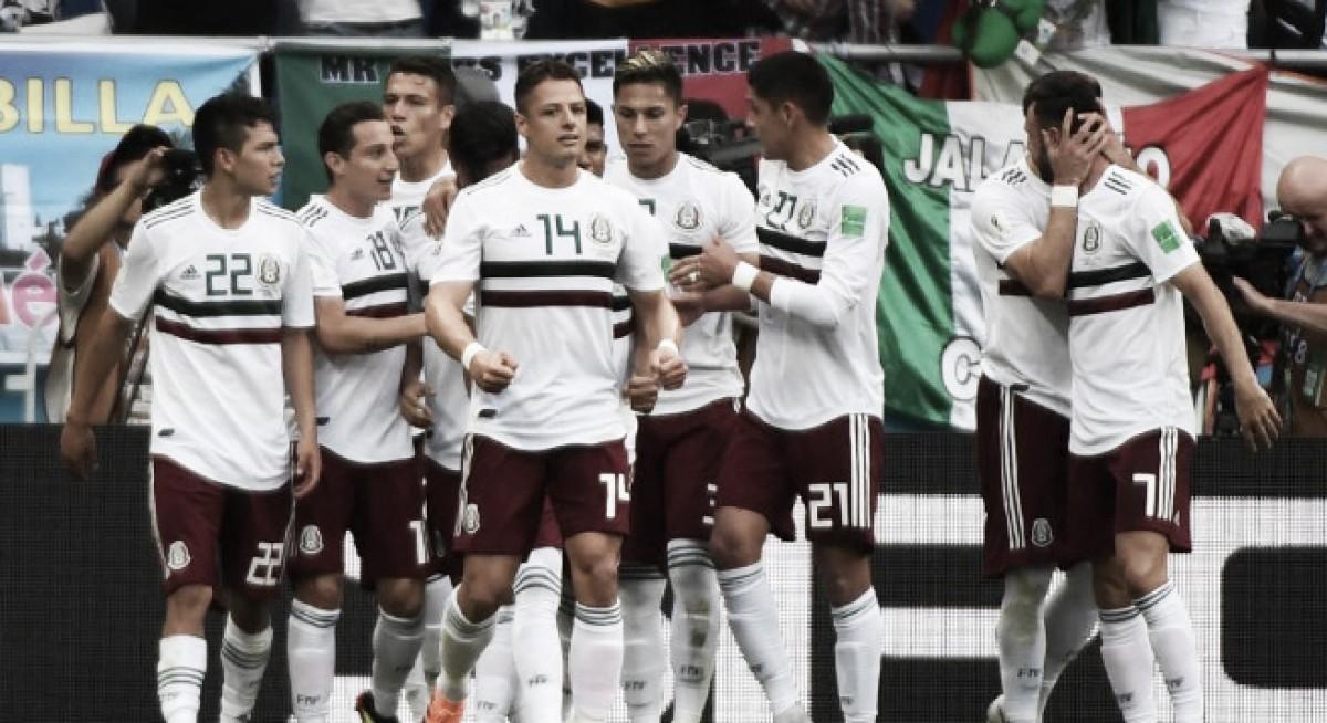 México vence a Corea del Sur y es líder del Grupo F