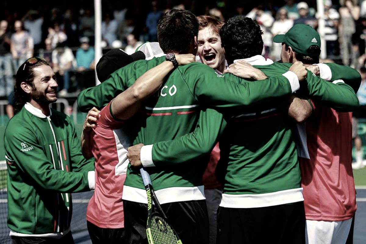 México gana en Copa Davis