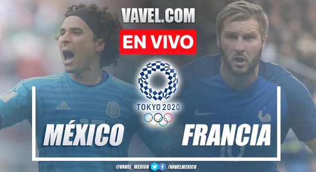 Goles y resumen: México 4-1 Francia enJuegos Olímpicos