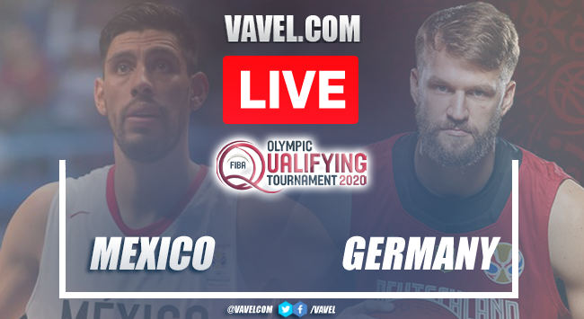 Highlights and Best Moments: Mexico 76-82 Germany inPre-Olympic FIBA 2021
