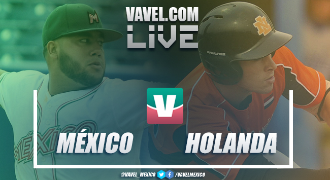 México vs Holanda EN VIVO ahora en Mundial Béisbol Sub-23 (0-0)