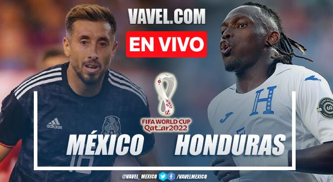 Goles y resumen del México 3-0 Honduras en Eliminatorias CONCACAF 2021