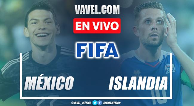Goles y resumen del México 2-1 Islandia en Partido Amistoso 2021
