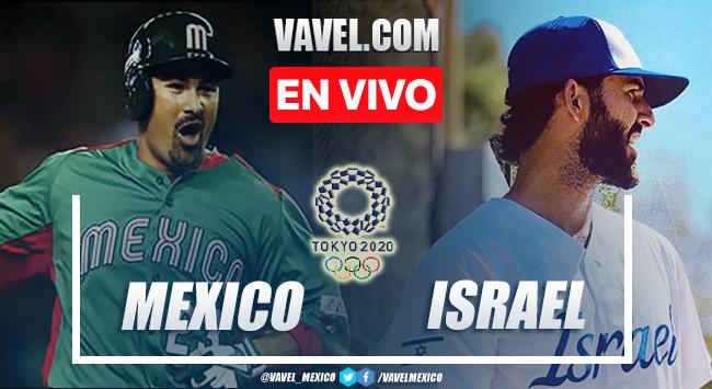 Carreras y resumen del México 5-12 Israel en Béisbol Olímpico Tokio 2020