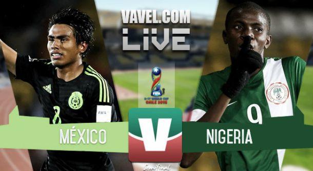 Resultado México - Nigeria en semifinales Mundial sub 17 2015 (2-4)