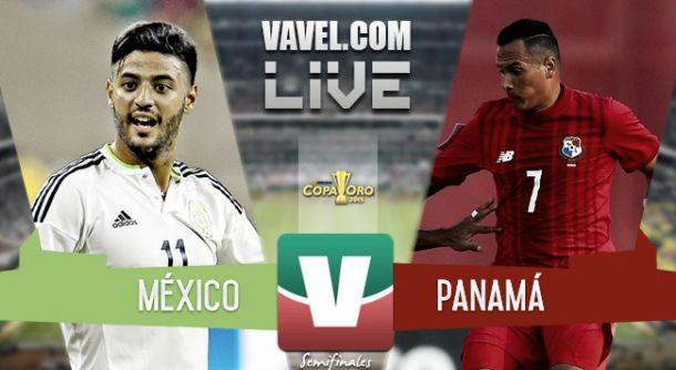 Resultado México - Panamá en semifinales Copa Oro 2015 (2-1)