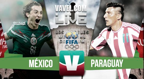 Resultado México - Paraguay en Partido Amistoso 2015 (1-0)