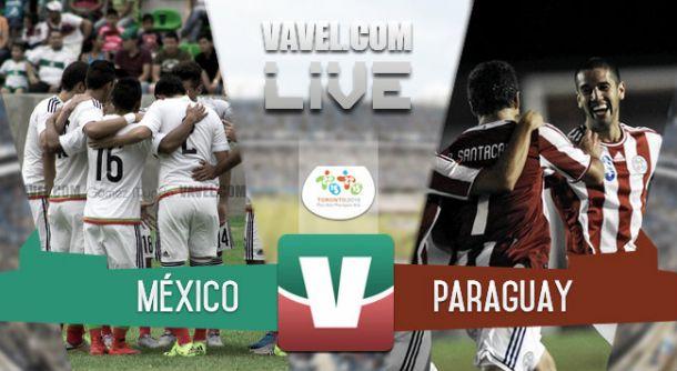 Resultado México - Paraguay en Juegos Panamericanos 2015 (1-1)