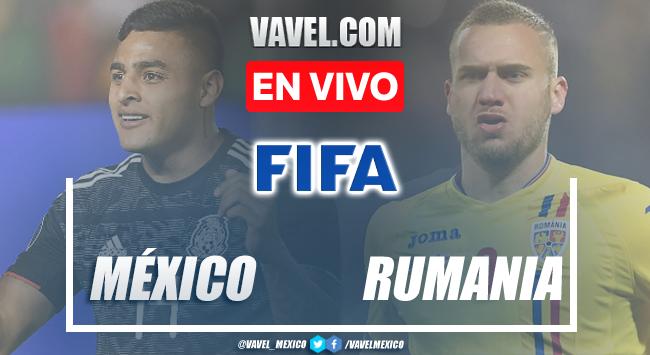 Gol y resumen México 1-0 Rumania Sub-23 en Partido Amistoso 2021