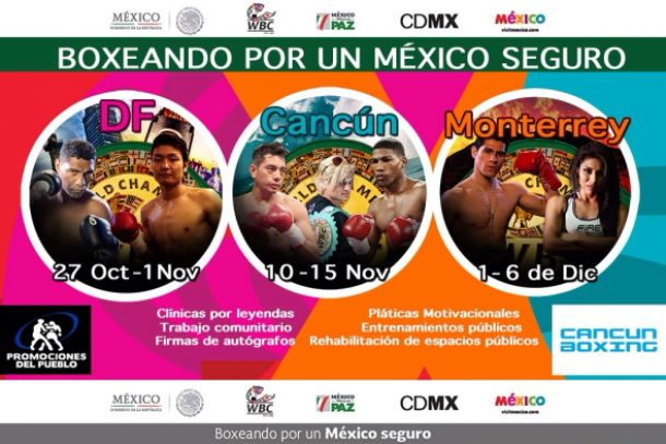 """CMB arranca """"Boxeando por un México Seguro"""""""
