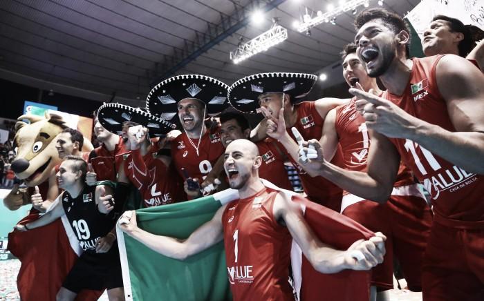 Rumo à Olimpíada: seleção masculina de Vôlei do México
