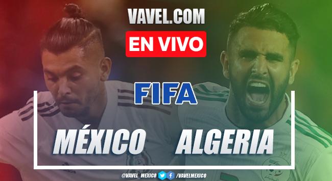 Goles y Resumen del México 2-2 Argelia en partido amistoso de fecha FIFA 2020