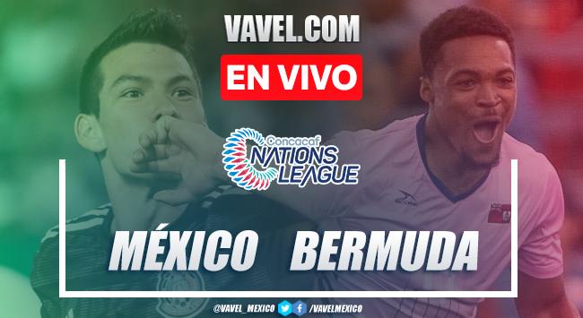 Resumen y golesMéxico 5-1 Bermudas en Nations League 2019