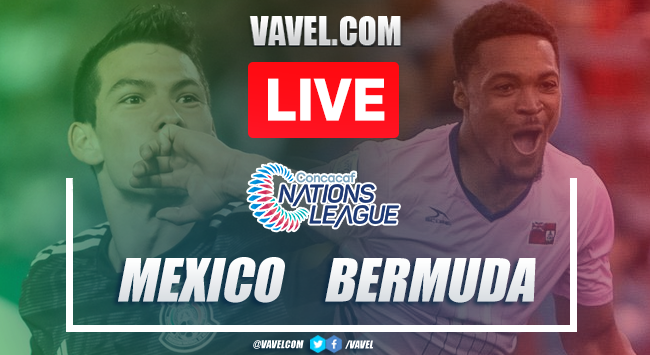 Goals and Highlights: México 5-1 Bermuda, 2019 Nations League