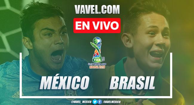 Goles y resumen México Sub-17 1-2 Brasil en Final Mundial Sub-17 2019