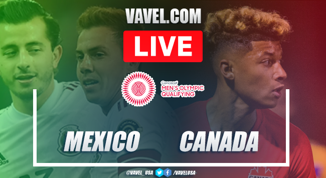 Goals and Highlights: Mexico 2-0 Canada in 2020 Olympic Qualifying