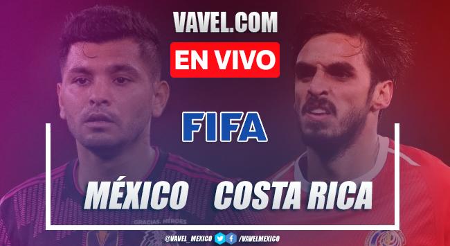Gol y resumen del México 1-0 Costa Rica en partido amistoso Fecha FIFA 2021