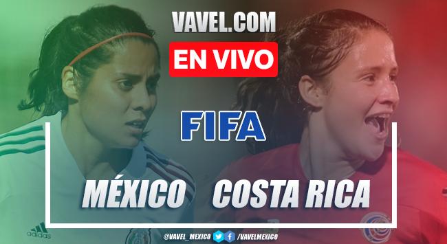 Goles y resumen: México 3-1 Costa Rica en Amistoso Femenil 2021