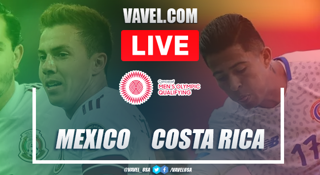 Goals and highlights:Mexico 3-0 Costa Rica in CONCACAF Men's Olympic Soccer Qualifying