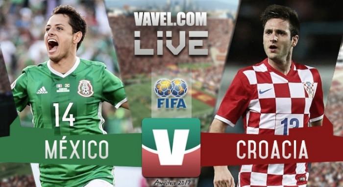 Resultado y goles del México 1-2 Croacia en Amistoso 2017