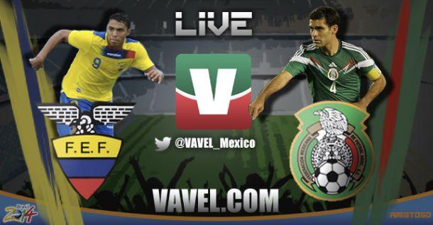 Resultado México - Ecuador amistoso 2014 (3-1)