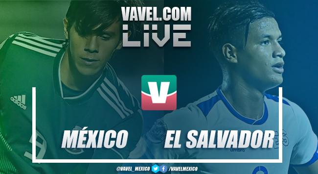 México vs El Salvador EN VIVO en Premundial Sub-20 (1-0)