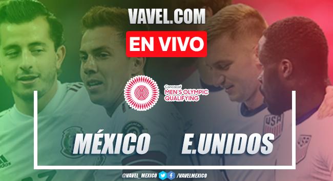 Gol y resumen: México 1-0 Estados Unidos en Preolímpico de CONCACAF 2021