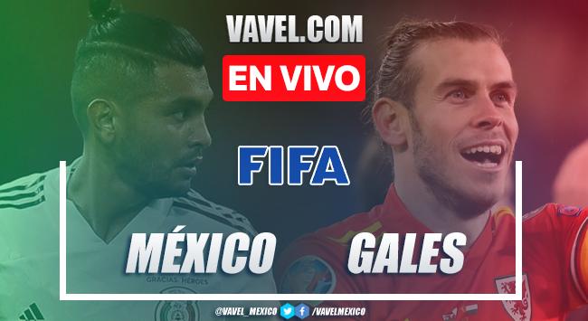 México vs Gales EN VIVO transmisión online AHORA (0-1)