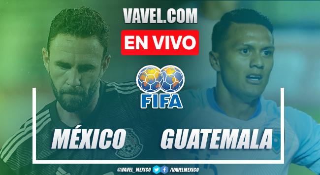 Goles y resumen: México 3-0 Guatemala Amistoso FIFA 2020