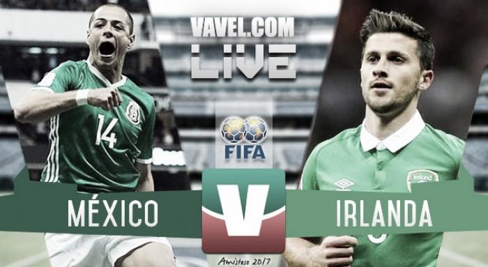 Resultado y goles del México (3-1) Irlanda en partido amistoso